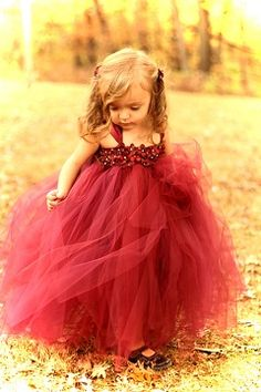 Couture Dreams- Beautiful in BurgandyTutu Dress --- please visit her site. Her dresses are beautiful and her prices are so affordable! Perfect flower girl dresses.