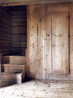 Jamtland Farmhouse-21-1 Kindesign  ...just wood....beautiful, rustic, wood..