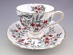 Vintage Tuscan England Tea Cup And Saucer