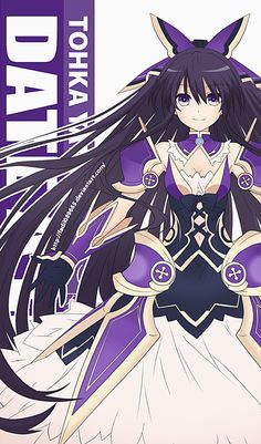 Date A Live Wallpapers Mobile : Tohka Yatogami by on DeviantArt Date A Live, Thicc Anime, Old Anime, Anime Character Names, Anime Characters, Sword Art Online, Persona Anime, Anime Date, Naruto Wallpaper