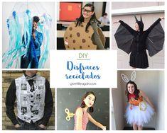 Disfraces de carnaval reciclados Diy Disfraces, Gentleman, Bat Costume, Recycled Dress, Toilet Paper Rolls, Recycled Materials, Gentleman Style, Men Styles