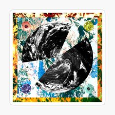 Squaring The Circle, Decorate Notebook, Canvas Prints, Art Prints, Glossier Stickers, Vibrant, My Arts, Printed, Awesome