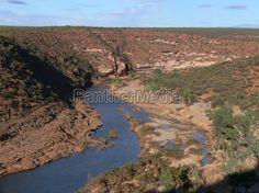 Murchison River im Kalbarri National Park (Western Australia)