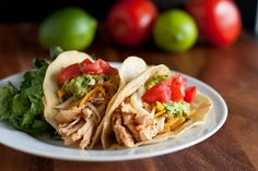 Chicken Tacos (Cafe Rio Shredded Chicken Copycat Recipe) - Cooking Classy