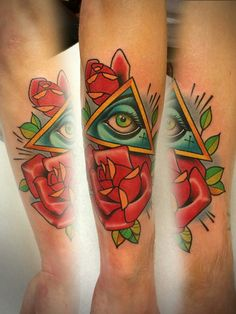 Traditional all seeing eye tattoo traditional all seeing for Tattoo shops in scranton pa