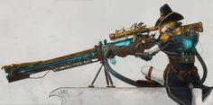 The Order 1886 contest entry: Rail gun by DeVmarine.deviantart.com on @DeviantArt