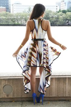 Aztec print dress 'Down Lover's Lane' by Aussie label Talulah from their AW12 collection.