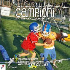 @Regrann from @ssfonlus -  Cosa rende un bambino davvero felice? Muoversi divertirsi giocare insieme. Crescere un passo per volta facendo sport con tanti nuovi amici lontano dalla strada per avere una vita sana e un futuro sereno. Sostenere i nostri bambini non ti costerà nulla. Basta solo una firma. Dona il tuo 51000 a Sport Senza Frontiere: codice fiscale 97653510582.  @legiotrediciroma_aft  #SportSenzaFrontiere #campione #campioni #unodinoi #forzaragazzi #orgoglio #vincere #nazionale…