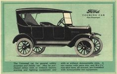 1924 Model T - Details on how it worked, Great source!