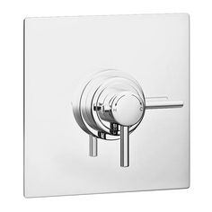 Orion Dual Concealed Thermostatic Shower Valve - Chrome