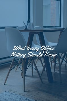 We've got 3 major tips for employee-Notaries in the office! Check them out.