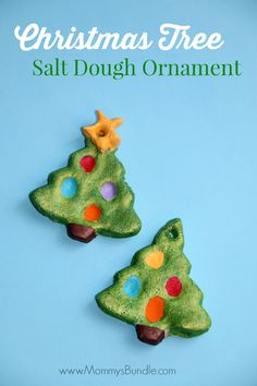 Christmas Tree Salt Dough Ornament