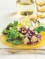 Tuna Salad with Kidney Beans & Red Onion