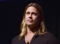 """Actor Brad Pitt attends a Q&A for his film """"12 Years A Slave"""" at the 2013 Telluride Film Festival on Aug. 30."""