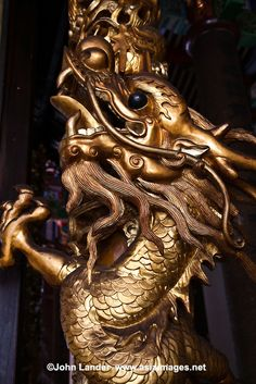 Golden dragon Bliss | Golden Chinese Dragon at Kek Lok Si Temple or Temple of Supreme Bliss ...