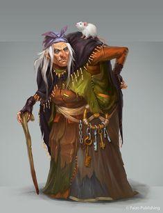 Granny Nan by Vetrova.deviantart.com on @deviantART