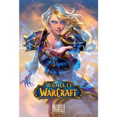 """World of Warcraft Jaina Poster """"Always remember that power is a double-edged blade."""" Celebrate the official key art of Jaina Proudmoore with this BlizzCon 2017 poster! World Of Warcraft, Warcraft 3, Warcraft Funny, Jaina Proudmoore, Pixar, Character Art, Character Design, Heroes Of The Storm, Image Fun"""