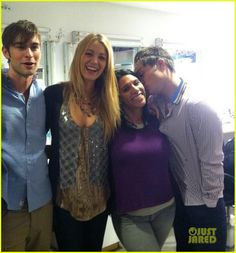 Blake Lively & Penn Badgley: 'Gossip Girl' Wrap Party!
