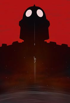 The Iron Giant  Minimalist Movie Poster  iron giant by bigbadrobot, $15.00