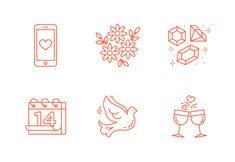 Free Love & Valentine's Set