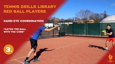 RED ball players drills and exercises Tennis Videos, Tennis Workout, Player 1, Drills, Exercises, Basketball Court, Fitness, Red, Exercise Routines