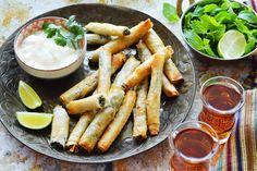 spinach and feta mini rolls
