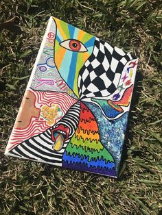 Hippie Painting, Trippy Painting, Painting & Drawing, Space Drawings, Art Drawings Sketches, Doodle Drawings, Small Canvas Art, Mini Canvas Art, Keyboard Tutorial