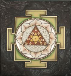 This is a beautiful Ganesha Yantra found on Valleyshareart.com. I like the colors and flow of the shapes and textures created by certain designs. ~J