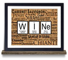 Periodic table jigsaw puzzle periodic table poster periodic table geeky wine periodic table nerdy gift typography art print on etsy 1200 urtaz Choice Image