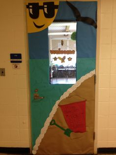 classroom door decoration for summer | share