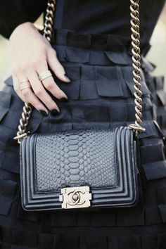 99cd6825471785 Find the Chanel boy bag: at The RealReal presents a different experience  than thumbing through scarves at the dowager consignment.