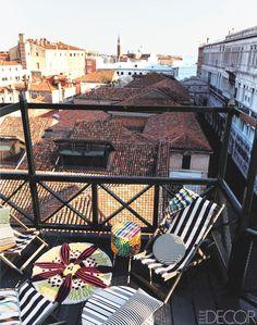 Venice Balcony, Venice, Italy