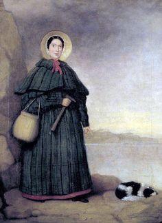 #MaryAnning (1799–1847) fue una paleontóloga, coleccionista y comerciante de fósiles inglesa. Su trabajo contribuyó a que se dieran cambios fundamentales a principios del siglo XIX en la manera de entender la vida prehistórica y la historia de la Tierra.   Mary Anning was a British fossil collector, dealer, and palaeontologist.