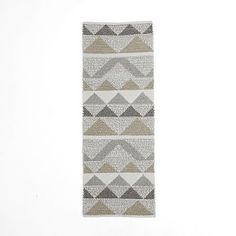 Knotted Triangle Wool Rug #westelm