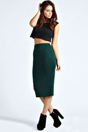 boohoo Midi Jersey Tube Skirt - bottle azz42989 The jersey midi skirt is a must-have staple piece for every season! We'd style this with a cute crop top , a pair of ankle boots and a piece of bold jewellery . http://www.comparestoreprices.co.uk/skirts/boohoo-midi-jersey-tube-skirt--bottle-azz42989.asp