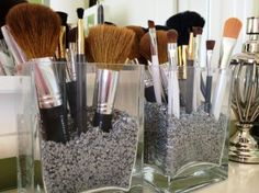 Make Up Room Tour and Organization   Brass & Whatnots