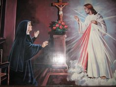 st. faustina   ... Senhora e Jesus Misericordioso a Santa Faustina Kowalska-Polônia