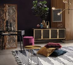Shop the OSMOSE Buffet, Black & Brass Colour in Black & Brass Colour . All freedom furniture comes with a 2 year warranty. Shop online or in stores across Australia. Loft Spaces, Living Spaces, Living Room, Freedom Furniture, Modern Rustic Homes, Loft Style, Brass Color, Gold Colour, Contemporary Furniture