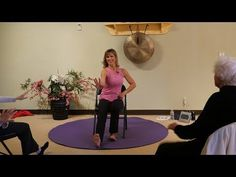 Give this playful song an extra spark of energy with this lively heel stomping dance. This dance and 9 others were part of our monthly One-Hour Chair Yoga Da. Health Education, Physical Education, Senior Activities, Work Activities, Bed Workout, Chair Exercises, Gentle Yoga, Chair Yoga, Yoga Dance