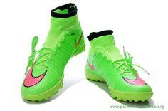 brand new 4e7f5 57c12 Mens Green NIKE ELASTICO Superfly IC Football Cleats