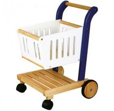 Wooden Shopping Trolley, Shops