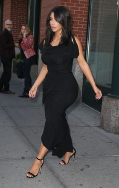 Kim Kardashian heads out in New York City on May 16, 2016.