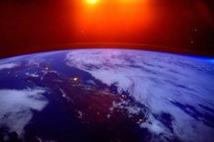 Sunrise over New Zealand taken by Astronaut Scott Kelly from the ISS Dec 25th 2015