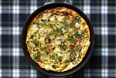 Yes, frittatas are often enjoyed at brunch time. But chopped curly kale and fresh dill make this version perfectly suitable for dinner—and if there are any leftovers, you can enjoy them for breakfast. When you're whipping it up, don't skip the nonstick skillet, as it's crucial for easy serving. When you do go to serve, remember not to use a knife on your nonstick surface. If possible, scoop portions out with a big spoon (preferably rubber). This dish lasts for up to three days when it's…