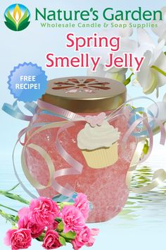 Spring Smelly Jelly Recipe is one of Natures Garden Craft Recipes. This free recipe shows how to make smelly jellies using our Lilac Fragrance Oil. Soap Supplies, Homemade Candles, Candlemaking, Jelly Recipes, Light Crafts, How To Make Homemade, Garden Crafts, Air Freshener, Fragrance Oil