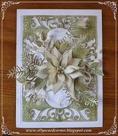 Spellbinders Exquisite Labels Eleven Memorybox Blooming Poinsetta  Memorybox Chloe Voice Memorybox Gwyneth Flourish Elisabeth Craft Designs Sprig with Berriesand  Elisabeth Craft Designs Curvy Leaves
