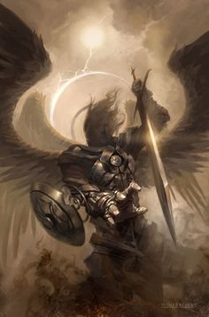 hierarchy of angels: Powers/Authorities. the highly trained warriors.....Gods Warriors, glad they exist