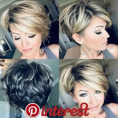 Today we have the most stylish 86 Cute Short Pixie Haircuts. We claim that you have never seen such elegant and eye-catching short hairstyles before. Pixie haircut, of course, offers a lot of options for the hair of the ladies'… Continue Reading → Short Pixie Haircuts, Cute Hairstyles For Short Hair, Trending Hairstyles, Curly Hair Styles, Short Layered Hairstyles, Short Hair Cuts For Women Pixie, Pixie Bob Haircut, 80s Hairstyles, Popular Short Hairstyles