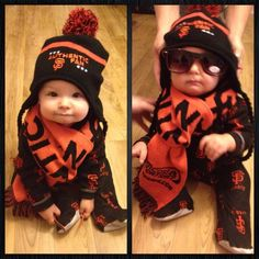 The CUTEST Authentic Giants fan there is. #authenticfan #SFGiants #GiantsTalk
