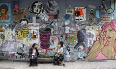 One of my most fav places in the world...Friedrichshain, Berlin